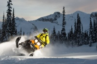 Snowmobiling in April ~ Photo: Alain Sleigher